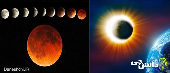ماه گرفتگی و خورشید گرفتگی