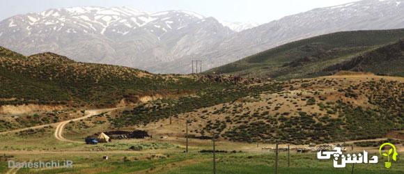 رشته کوه زاگرس و چگونگی تشکیل آن