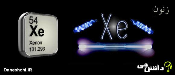 عنصر زنون Xe 54، عنصری از جدول تناوبی