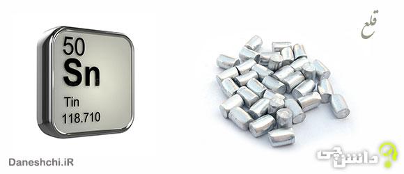 عنصر قلع Sn 50، عنصری از جدول تناوبی