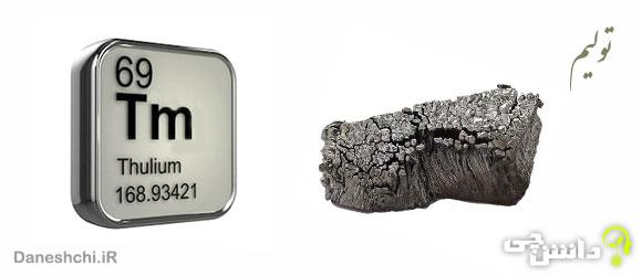 عنصر تولیم Tm 69، عنصری از جدول تناوبی
